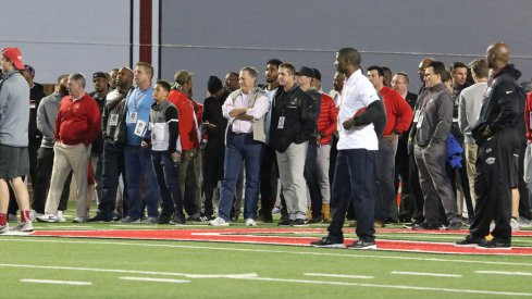 Sean Payton, Bill Belichick and more attended Ohio State's pro day.