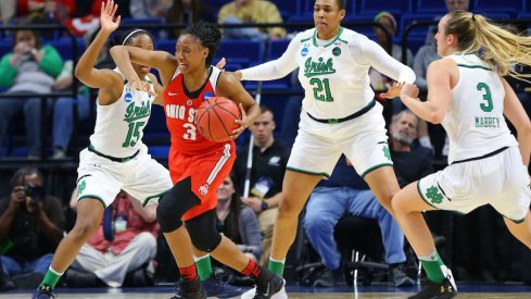 Ohio State's season ends with a Sweet 16 loss to top-seeded Notre Dame.