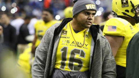 Haskell Garrett at the U.S. Army All-American Bowl