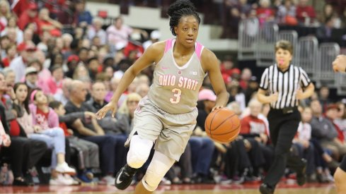 Ohio State guard Kelsey Mitchell to return for her senior season.