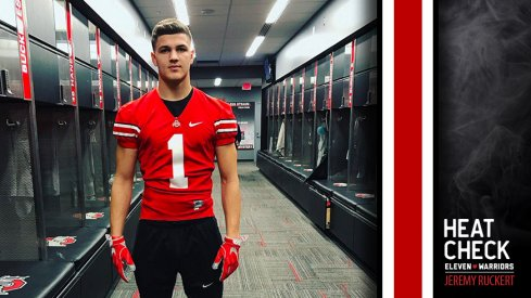 2018 tight end Jeremy Ruckert moves up to the No. 2 spot following the commitment of Taron Vincent.