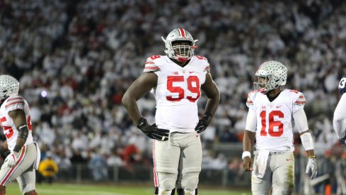 Ohio State starting right tackle Isaiah Prince looks for a better season as a junior.