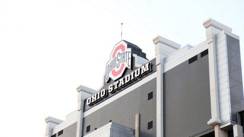Ohio Stadium for the Ohio State spring game.