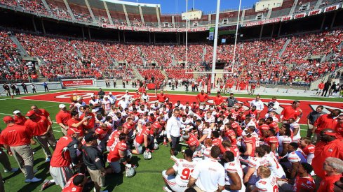Rosters for Ohio State's 2017 spring game.