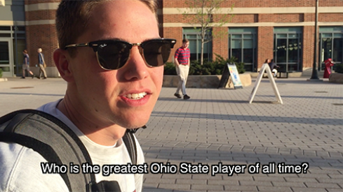 Who is the greatest Ohio State player of all time?