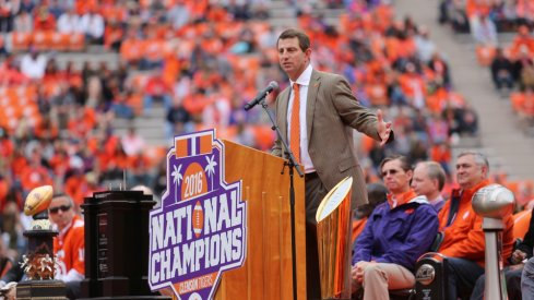 Dabo Swinney is approaching Urban Meyer and Nick Saban levels on the recruiting trail.