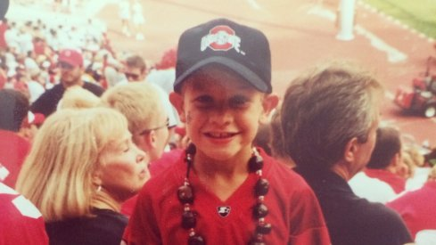 Me at the Ohio State spring game in 2002.
