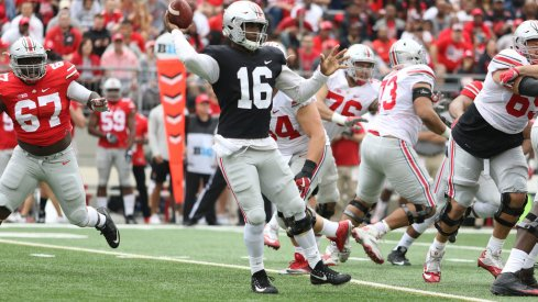 Ohio State 2017 Spring Game quotebook.