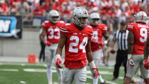 Shaun Wade led all players with six total tackles.