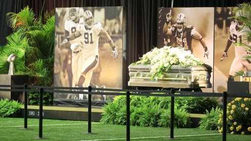 Man convicted of killing former New Orleans Saints and Ohio State defensive end Will Smith sentenced to 25 years in prison.