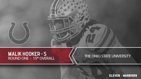 Malik Hooker drafted by the Indianapolis Colts.