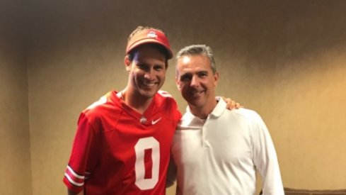 Daniel Tosh and Urban Meyer
