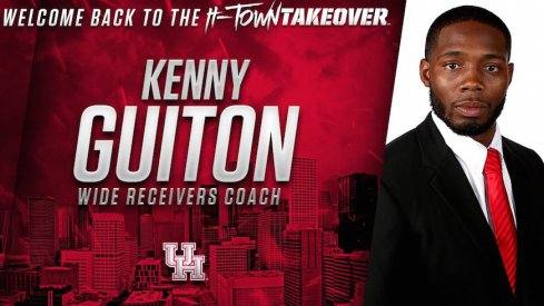 New Houston WRs coach Kenny Guiton