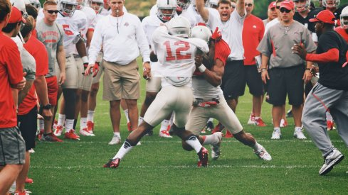 The Buckeyes emphasize block destruction every single day in practice, even though we often only see it in the 'Circle Drill'
