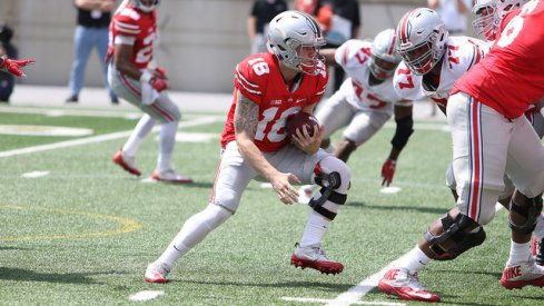 Tate Martell scores the first time he touches the ball.