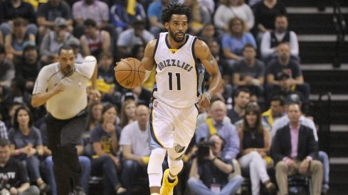 Mike Conley scored a playoff career-high 35 points to down the Spurs.