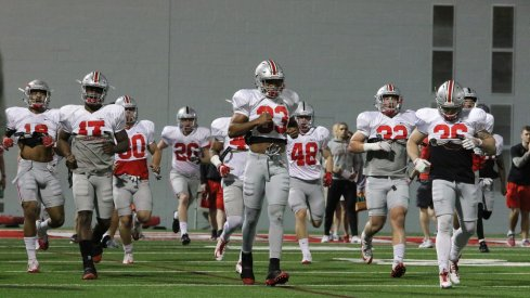 Jerome Baker and Dante Booker will be two of Ohio State's starting linebackers.