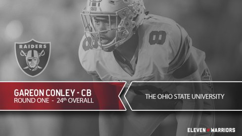Gareon Conley drafted by Oakland.
