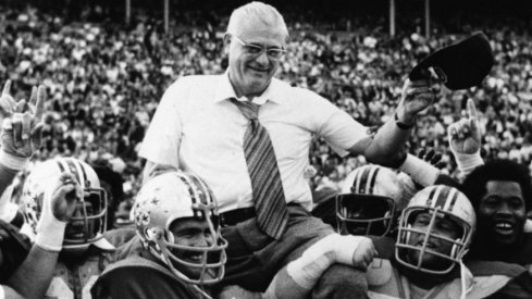 Woody Hayes brought five national titles to Columbus (three consensus).