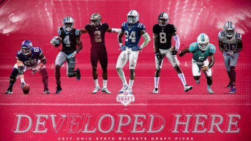 Ohio State sees seven more players drafted, two others sign in free agency.