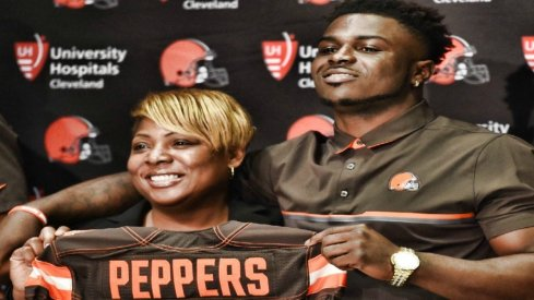 jabrill peppers is a cleveland brown