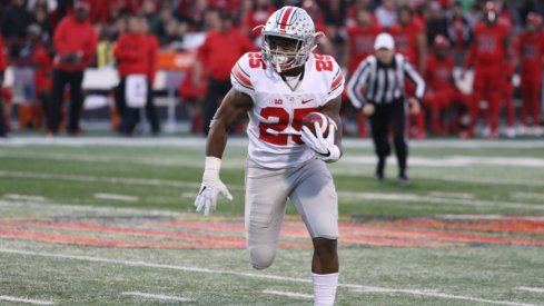 Mike Weber rushed for 1,096 yards last season in his first year as a starter.