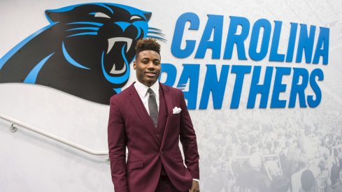 New Carolina Panther Curtis Samuel signs rookie contract.