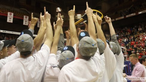 Ohio State men's volleyball, national champions.