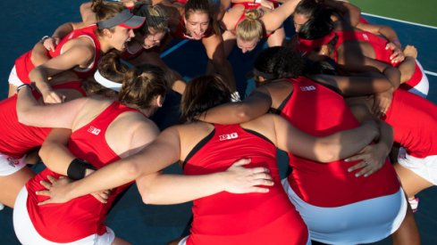 No. 3 seeded Ohio State women's tennis team opened its NCAA tournament campaign Saturday afternoon with a 4-0 thrashing of the Buffalo Bulls in Columbus.