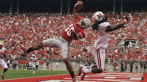 Devin Smith turned in this acrobatic one-hander for six against Miami back in 2012.