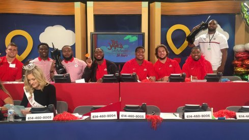 Several Ohio State players spent their Sundays helping out with the Children's Miracle Network Telethon.