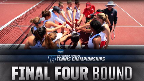 Ohio State's women's tennis team is headed to the NCAA semifinals for the first time in program history.
