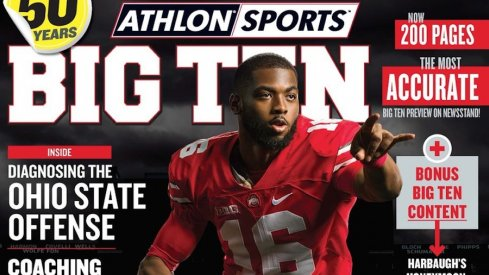 J.T. Barrett on the 2017 Athlon Sports Big Ten college football preview.