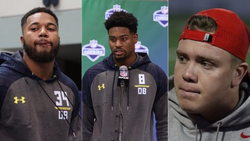 Three Ohio State 2017 NFL Draftees have not yet signed their first pro contracts.
