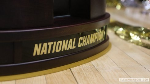 Ohio State's 2017 Men's Volleyball National Championship Trophy