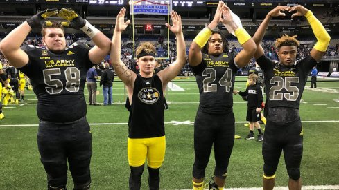 Jersey numbers for Ohio State's 2017 recruiting class.