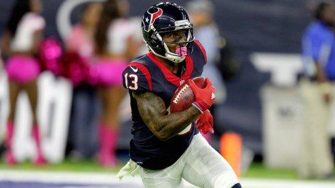 Houston Texans wide receiver Braxton Miller.