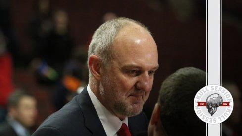 Thad Matta, former Ohio State head basketball coach
