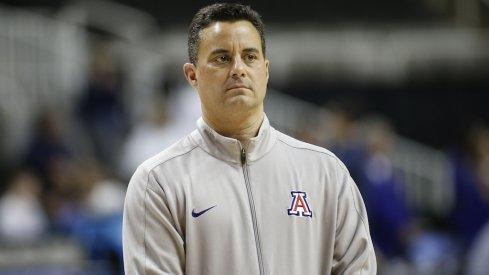 Arizona head coach Sean Miller