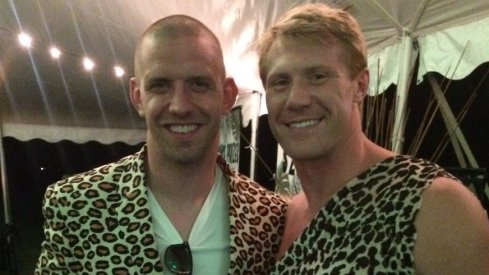 Former Ohio State linebackers James Laurinaitis and Bobby Carpenter