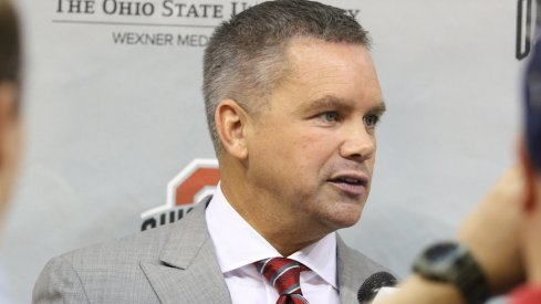 Chris Holtmann's Friday meeting with his new Ohio State players.