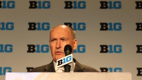 Big Ten discusses 20-game men's basketball slate.