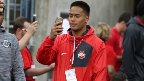 Four-star linebacker Solomon Tuliaupupu is expected in Columbus this weekend.