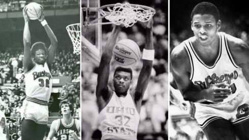 Herb Williams, Dennis Hopson and Clark Kellogg make up the 3-on-3 squad from the Eldon Miller era.
