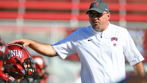 Tony Sanchez and UNLV play against Ohio State for the first time in school history this September.