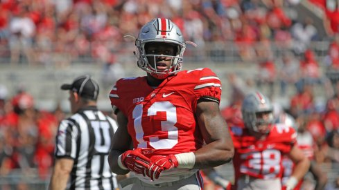 Ohio State thinking about using Rashod Berry at tight end after losing A.J. Alexander to injury, per Urban Meyer.