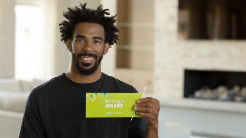 Mike Conley partnered with Be The Match.