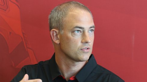 Ohio State assistant coach Mike Schrage.