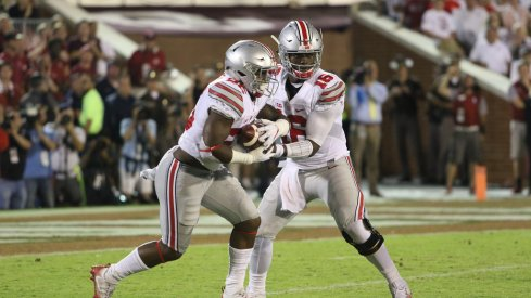 The option game is just one way the Buckeyes attack defensive ends