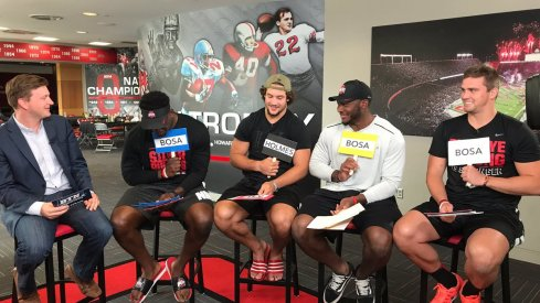 Ohio State's Rushmen to be featured on Big Ten Network's Sports Lite with Mike Hall.